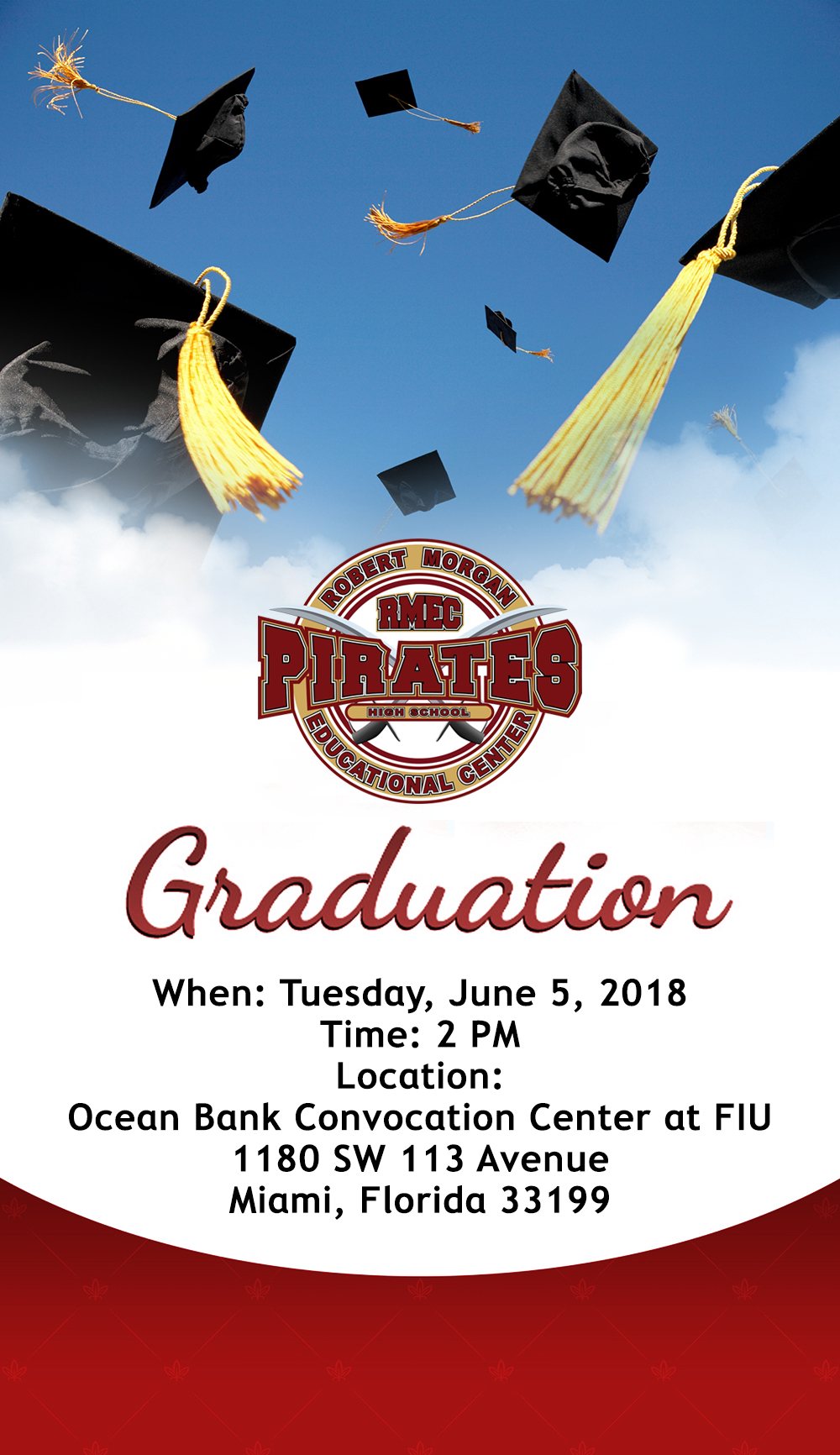 C/O 2018 Graduation @ Ocean Bank Convocation Center at FIU | Miami | Florida | United States