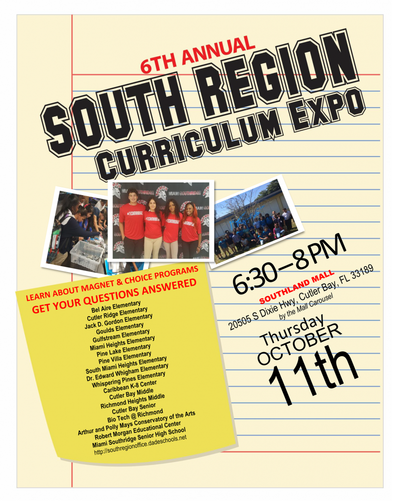 Curriculum Expo @ Southland Mall