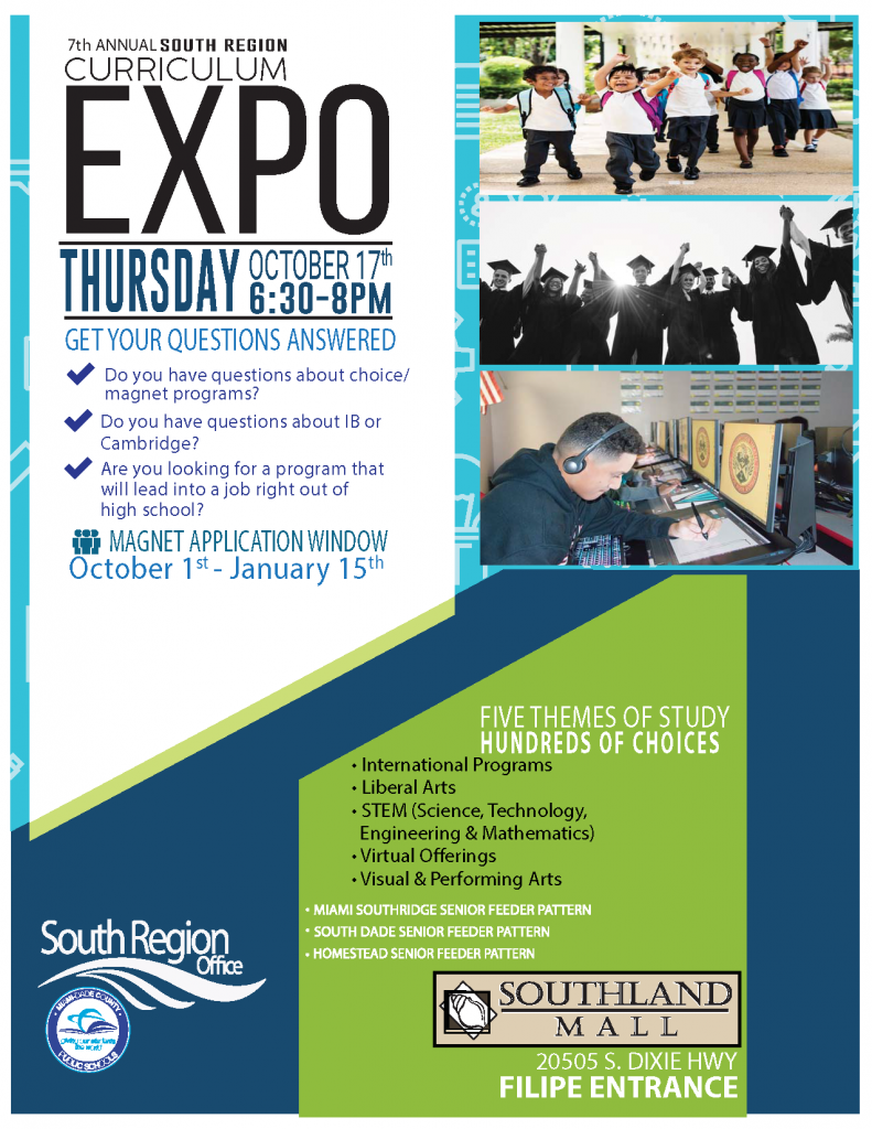 Curriculum Expo @ Southland Mall (FILIPE ENTRANCE)   Cutler Bay   Florida   United States