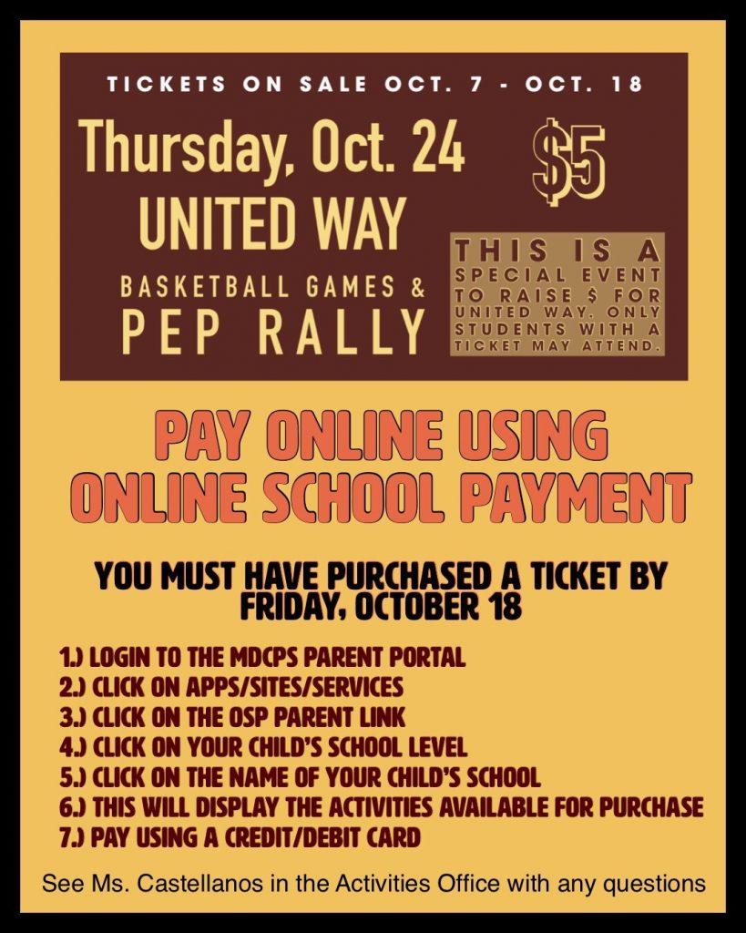 UW - Basketball Game & Pep Rally