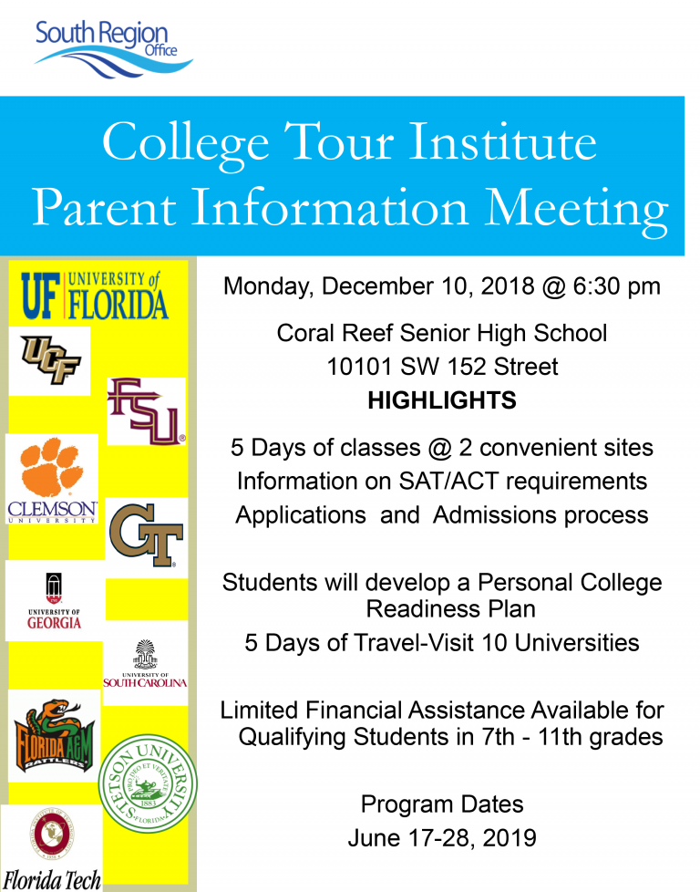 College Tour Parent Meeting Flyer-REVISED